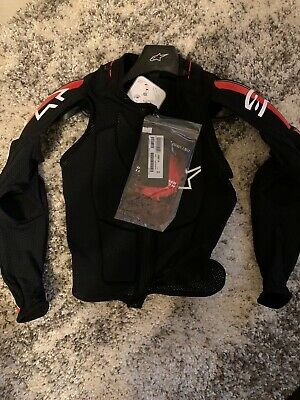 ALPINESTARS BIONIC PLUS JACKET BLACK/RED/WHITE M 6506716-132-M Mens