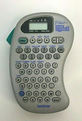 Brother P-Touch Home & Hobby II Electronic Label Maker Machine - Model PT-110
