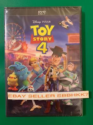 Toy Story 4 DVD Authentic With Disney Rewards READ LISTING New Free Shipping