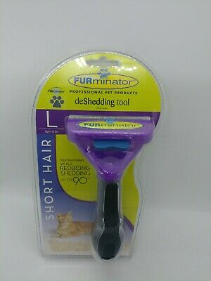 FURminator deShedding Tool for Large Cats Short Hair New, Sealed Authentic