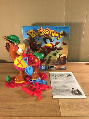 Hasbro Buckaroo The Saddle Stacking Game with a Moody Mule! Free UK Post