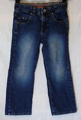 Boys Next Blue Denim Adjustable Waist Relaxed Straight Leg Jeans Age 6 Years