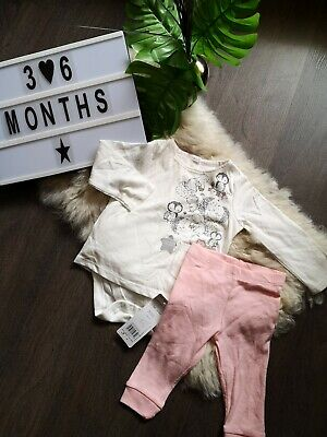 Brand New Baby Girl Set Outfit 3-6 Months