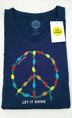 Wild Plum Life is Good Crusher Family Ties Engraved T-Shirt