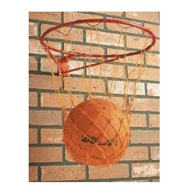 "Full Size Standard Netball Ring Net Hoop15"" 38cm Outdoor Wall Mounted Hanging"