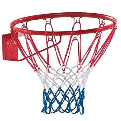 "Full Size Standard Basketball Ring Net Hoop18"" 45cm Outdoor Wall Mounted Hanging"