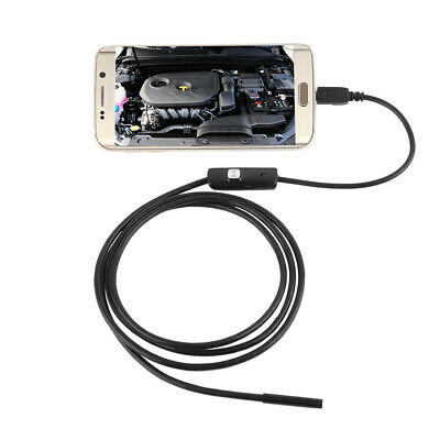 Waterproof Inspection Borescope Mini 6 LED 7mm Lens Android Endoscope