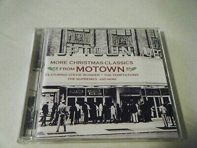 More Christmas Classics From Motown Cd Stevie Wonder Temptations Supremes