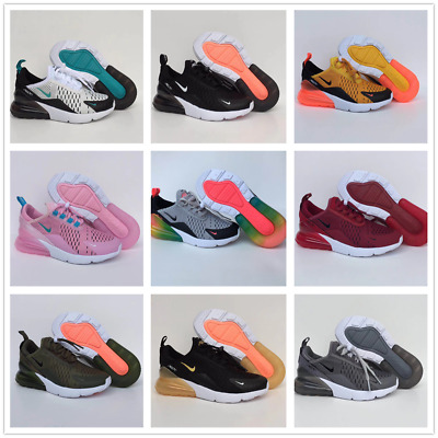 Kids Boys Girls Air Max 270 Running Light Sport Running Trainers Sneakers Shoes