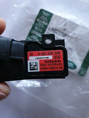 Ford Land Rover Volvo Jaguar Map  Sensor Genuine Bosch 0261230296 Lr021587