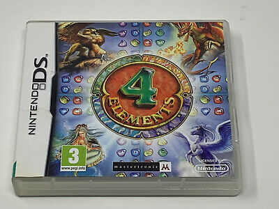 4 Elements For Nintendo DS - VGC - Same Day Dispatch - Free P&P