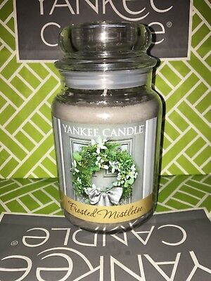 Frosted Mistletoe Yankee Candle 623g 22oz Large Jar - Brand New Genuine