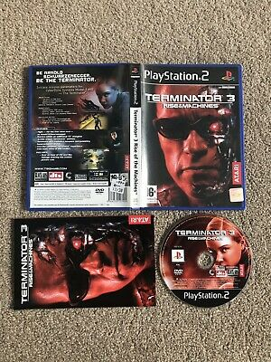 PlayStation 2 - Terminator 3: Rise Of The Machines (Superb Condition) PS2 UK PAL