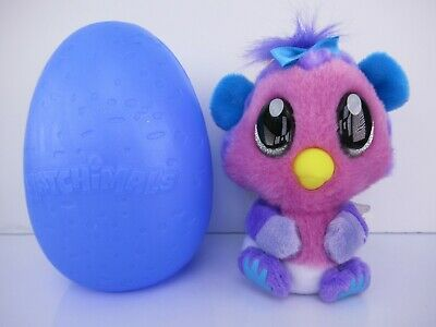 Hatchimals Hatchibabies Sound Clip On Plush 4 inch PINK MONKIWI  New Open!