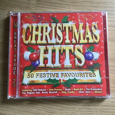 Christmas Hits - Various Artists 50 Festive Favourites 2CDS