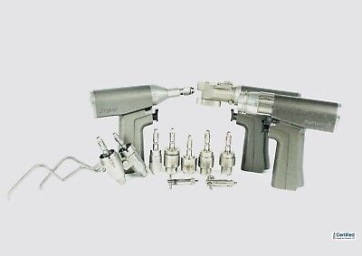 Stryker System 6 Drill Set with 3 Drills & Attachments 6203