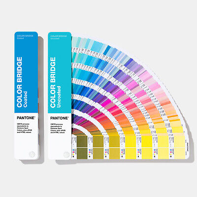 Pantone Plus Color Bridge Guides Coated & Uncoated GP6102A **NEW 2020 Edition**