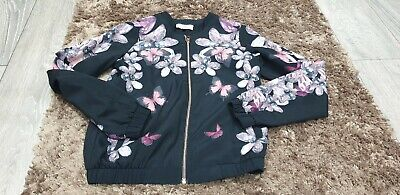 Girls Ted Baker Floral Jacket Age 12 Years