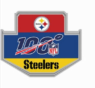 Pittsburgh Steelers Pin Nfl 100Th Anniversary 2019 - 20 Season Super Bowl 54