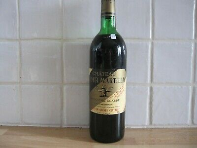 Chateau La Tour Martillac 1974- Grand Cru Classe- Graves- Bordeaux- N12
