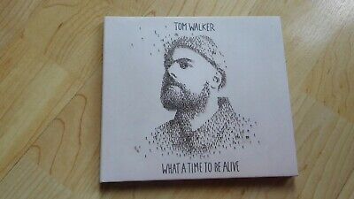 Tom Walker - What A Time To Be Alive - CD DIGIPAK + LYRIC BOOKLET 190758017723