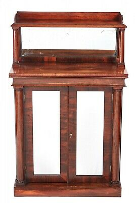 Small Quality Antique William IV Rosewood Chiffonier