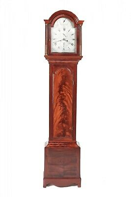 Quality Antique Mahogany 8 Day Longcase Clock Thomas Fowle East Grinstead
