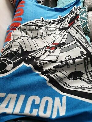 Starwars Soft character boys throw