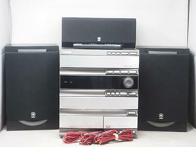 YAMAHA GX-700 Component Stereo System Works Great! Free Shipping!