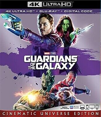 Guardians of the Galaxy 4K UHD 4K (used) Blu-ray Only Disc Please Read