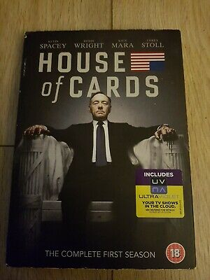 House of Cards: The Complete First Season (4-Disc DVD Boxset) - FREE UK P&P