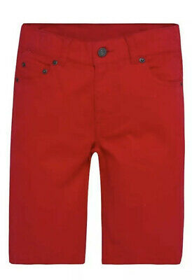Levis Boys 511 Chino Shorts .Red . Size 14R. (Waist 27inch)Slim from Hip to Knee