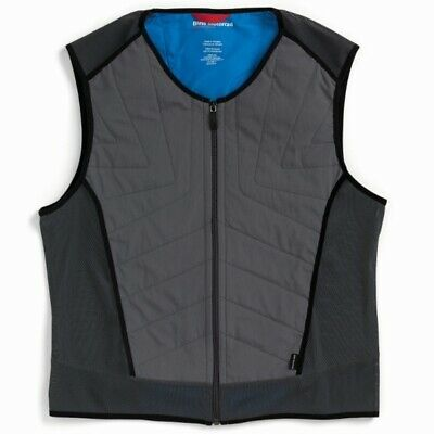 New BMW Cool Down Vest Unisex XL Dark Grey #76238395334