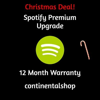 Christmas Deal!   Spotify Premium Upgrade   12 Month Warranty   Quick Delivery