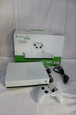 Microsoft Xbox One S 1TB All-Digital Edition Console (Disc-free Gaming) White
