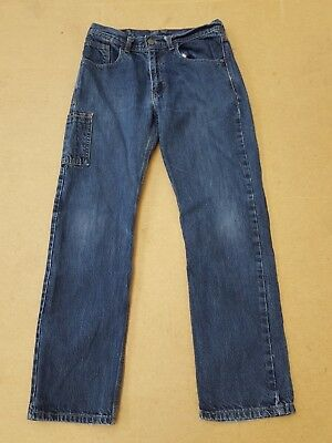 F316 Boys / Girls Levi Strauss 514 Blue Straight Leg Jeans Age 18 Reg W29 L29