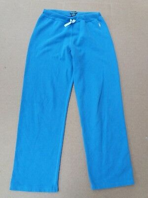 D979 Girls Ralph Lauren Fading Blue Loose Fit Jogging Bottoms L 14-16 Yr W28 L28