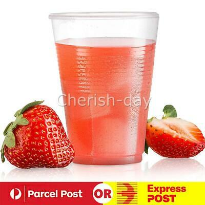 200ml Clear Disposable Plastic Cups Party Drinking Water Coffee Cup Reusable Z