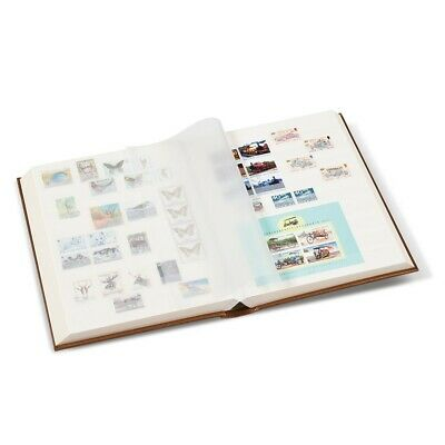 Lighthouse Metallic Edition Stamp Stockbook 9x12 A4 64 White Pages Bronze Album