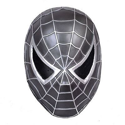 NEW Paintball BB Gun Airsoft Full Face Protection Spider-Man Mask Prop Cosplay