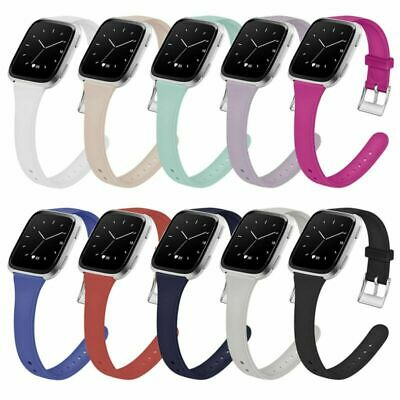 Silicone Wristband Replacement Band Strap Bracelet for Fitbit Versa & Versa Lite