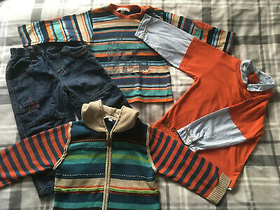 Boys KENZO Outfit Tops Cardigan Jeans Age 2 Years