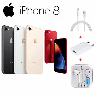 Apple iPhone 8 Smartphone 64GB / 256GB Factory Unlocked Mobile Phone New (other)