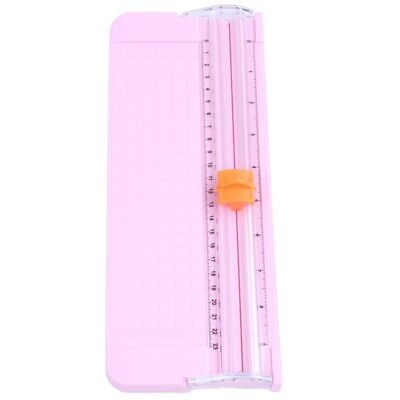 JIELISI 9090 Mini Small Slide Cutter Cut Paper Cutter Cutter Color:Pink Y5G8