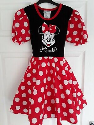 Girls Minnie Mouse Dress age 4-6