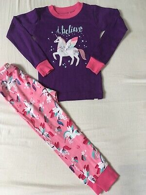 GIRLS HATLEY PYJAMAS 3 Years Unicorns And Sparkles! Brand New