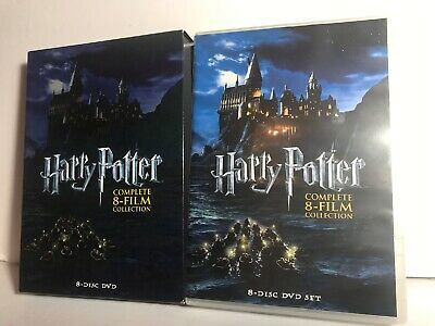 Harry Potter: Complete 8-Film Collection DVD, 2011, 8-Disc Set - Excellent !!