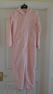 Girl's Marks & Spencer One Piece Nightwear With Hood - Age: 11-12 Years - Used