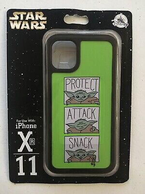 Disney Parks Star Wars Mandalorian Baby Yoda iPhone 11 XR Phone Case NEW