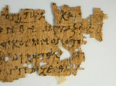 """Coptic Papyrus Gospel collection of 5. HAHNEMUHLE FINE ART REPRODUCTION 12X16"""""""